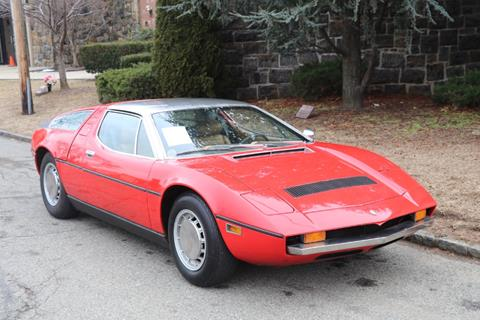1974 Maserati Bora 4.9 for sale at Gullwing Motor Cars Inc in Astoria NY