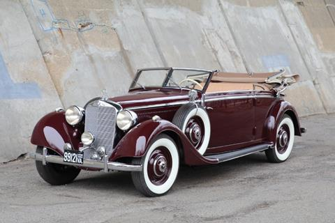 1938 Mercedes-Benz 320 for sale at Gullwing Motor Cars Inc in Astoria NY