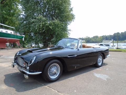 1967 Aston Martin DB6 Volante for sale at Gullwing Motor Cars Inc in Astoria NY