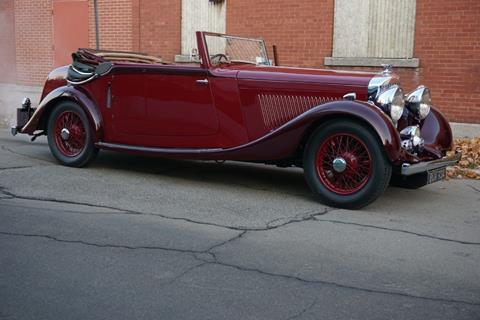 1935 Bentley 3 1/2 Litre for sale at Gullwing Motor Cars Inc in Astoria NY