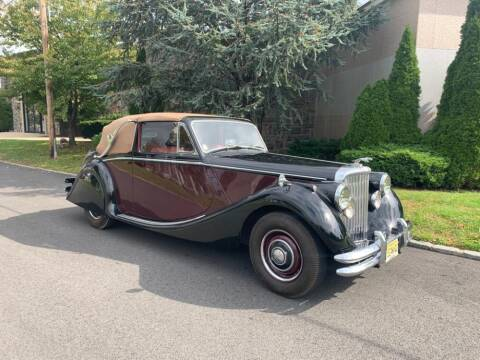 1951 Jaguar Mark V left-Hand Drive for sale at Gullwing Motor Cars Inc in Astoria NY