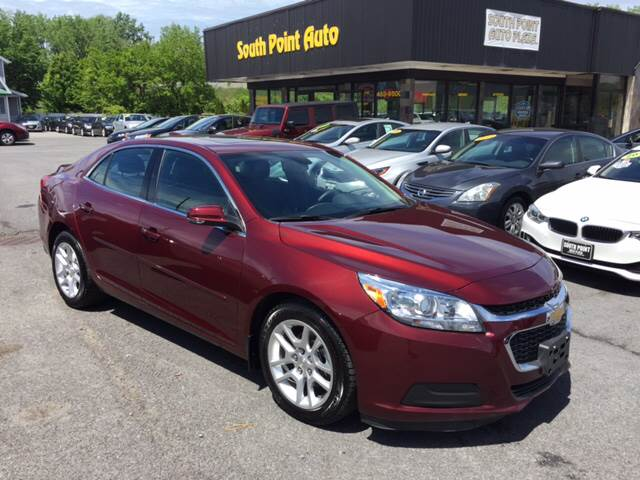 2015 chevrolet malibu lt 4dr sedan w 1lt in albany ny south point auto plaza inc. Black Bedroom Furniture Sets. Home Design Ideas