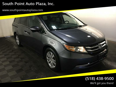 2015 Honda Odyssey for sale at South Point Auto Plaza, Inc. in Albany NY