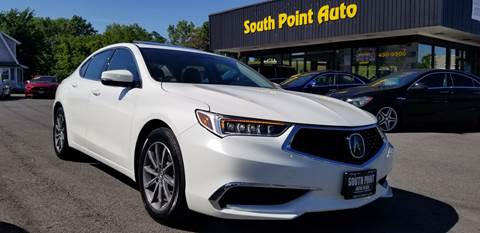2018 Acura TLX for sale at South Point Auto Plaza, Inc. in Albany NY