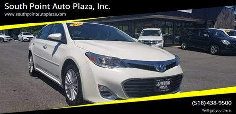 2013 Toyota Avalon Hybrid for sale at South Point Auto Plaza, Inc. in Albany NY