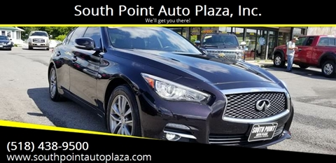2014 Infiniti Q50 for sale at South Point Auto Plaza, Inc. in Albany NY