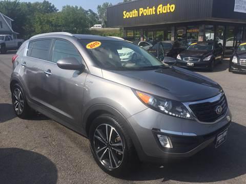 2015 Kia Sportage for sale at South Point Auto Plaza, Inc. in Albany NY