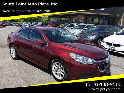 2015 Chevrolet Malibu for sale at South Point Auto Plaza, Inc. in Albany NY