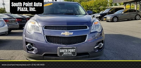 2013 Chevrolet Equinox for sale at South Point Auto Plaza, Inc. in Albany NY