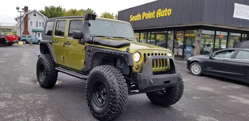 2008 Jeep Wrangler Unlimited For Sale At South Point Auto Plaza, Inc. In  Albany