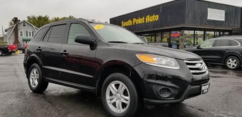2012 Hyundai Santa Fe for sale at South Point Auto Plaza, Inc. in Albany NY