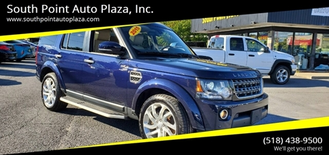 2016 Land Rover LR4 for sale at South Point Auto Plaza, Inc. in Albany NY