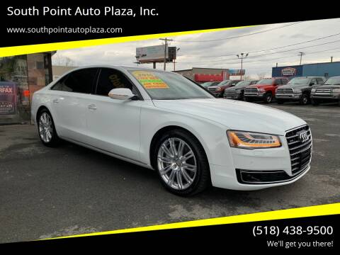 2016 Audi A8 L for sale at South Point Auto Plaza, Inc. in Albany NY