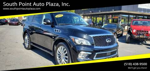 2017 Infiniti QX80 for sale at South Point Auto Plaza, Inc. in Albany NY