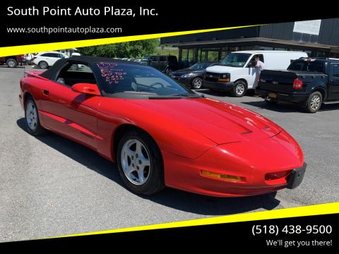1995 Pontiac Firebird for sale at South Point Auto Plaza, Inc. in Albany NY