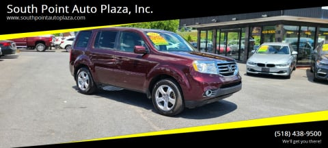 2013 Honda Pilot for sale at South Point Auto Plaza, Inc. in Albany NY