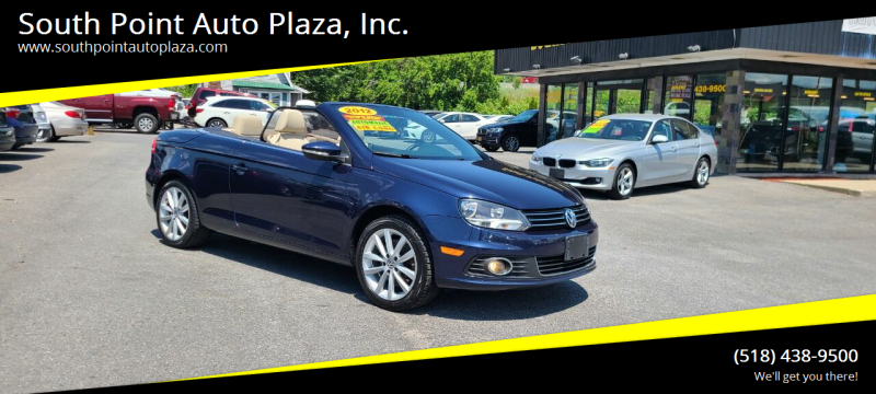 2012 Volkswagen Eos for sale at South Point Auto Plaza, Inc. in Albany NY