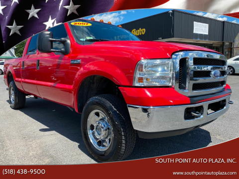 2007 Ford F-250 Super Duty for sale at South Point Auto Plaza, Inc. in Albany NY