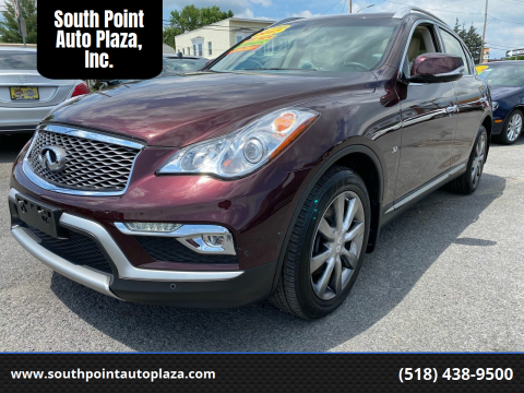 2017 Infiniti QX50 for sale at South Point Auto Plaza, Inc. in Albany NY