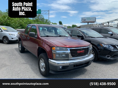 2007 GMC Canyon for sale at South Point Auto Plaza, Inc. in Albany NY