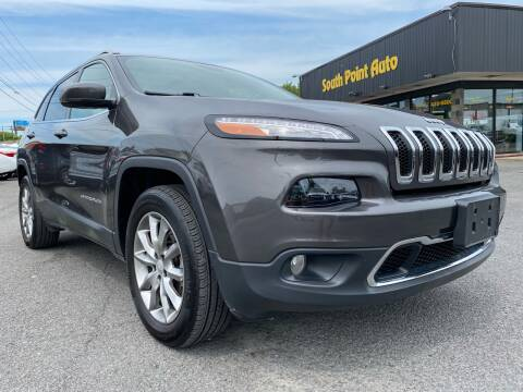 2018 Jeep Cherokee for sale at South Point Auto Plaza, Inc. in Albany NY
