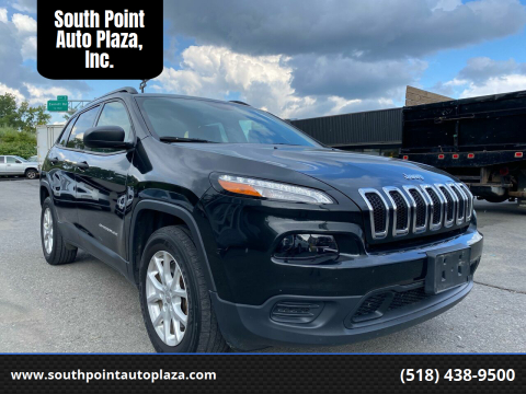 2016 Jeep Cherokee for sale at South Point Auto Plaza, Inc. in Albany NY