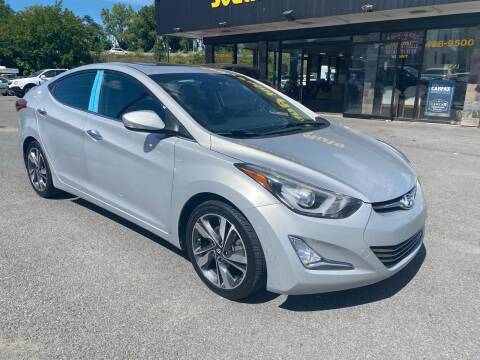 2014 Hyundai Elantra for sale at South Point Auto Plaza, Inc. in Albany NY