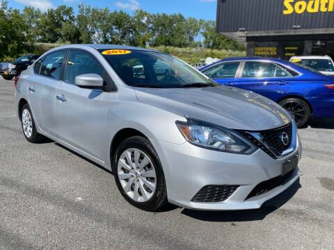 2017 Nissan Sentra for sale at South Point Auto Plaza, Inc. in Albany NY