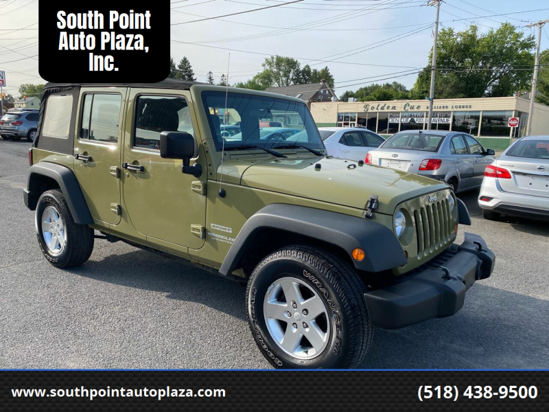 2013 Jeep Wrangler Unlimited for sale at South Point Auto Plaza, Inc. in Albany NY