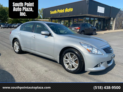 2013 Infiniti G37 Sedan for sale at South Point Auto Plaza, Inc. in Albany NY