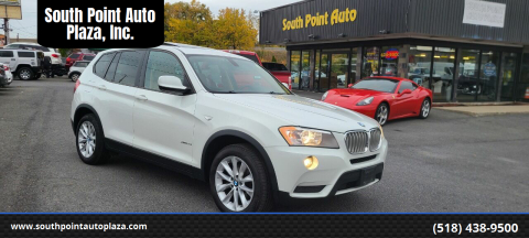 2013 BMW X3 for sale at South Point Auto Plaza, Inc. in Albany NY