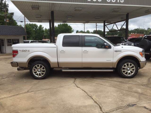 2012 Ford F-150 4x4 King Ranch 4dr SuperCrew Styleside 5.5 ft. SB - Mineola TX
