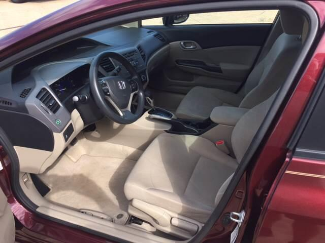 2012 Honda Civic LX 4dr Sedan 5A - Mineola TX