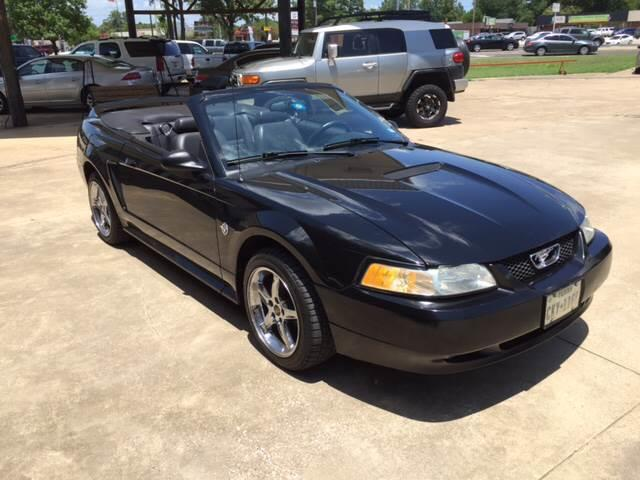 1999 Ford Mustang GT 2dr Convertible - Mineola TX