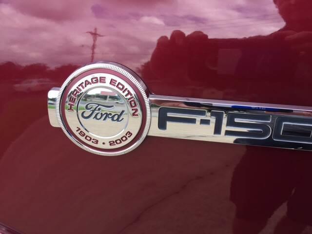 2003 Ford F-150 4dr SuperCab XLT 4WD Styleside SB - Mineola TX