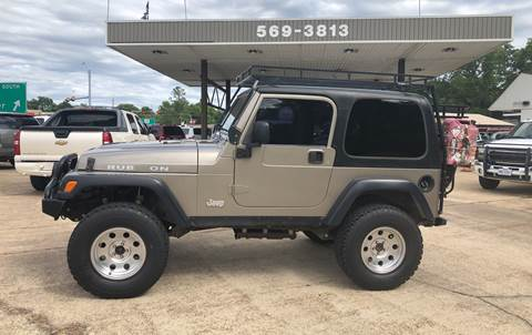 2003 Jeep Wrangler for sale in Mineola, TX