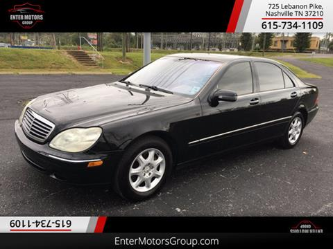 2002 Mercedes-Benz S-Class for sale in Nashville, TN