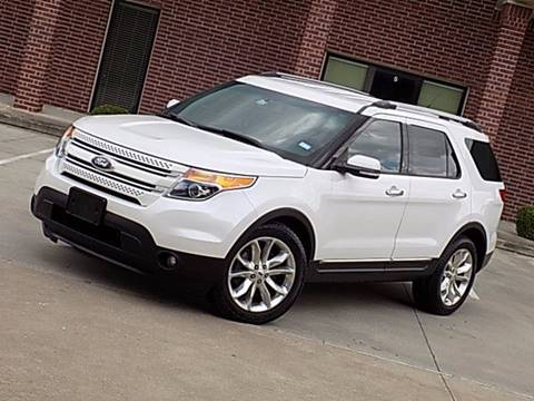 2013 Ford Explorer for sale at Texas Motor Sport in Houston TX