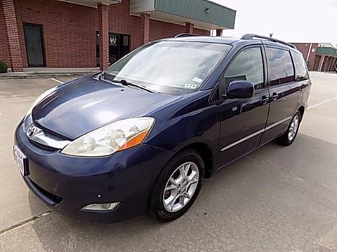 2006 Toyota Sienna for sale at Texas Motor Sport in Houston TX
