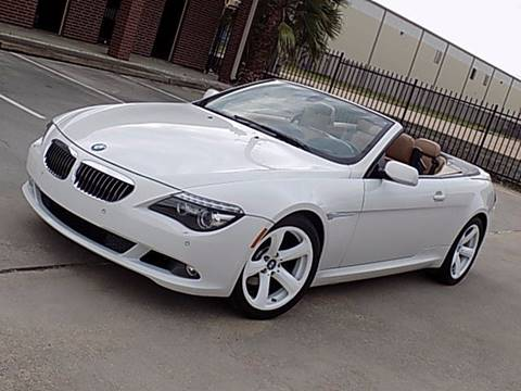 2008 BMW 6 Series for sale at Texas Motor Sport in Houston TX