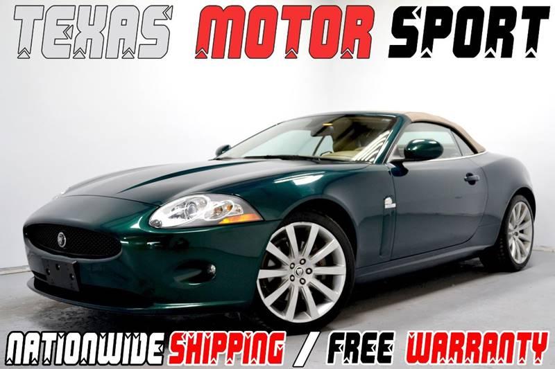 2008 Jaguar XK-Series for sale at Texas Motor Sport in Houston TX