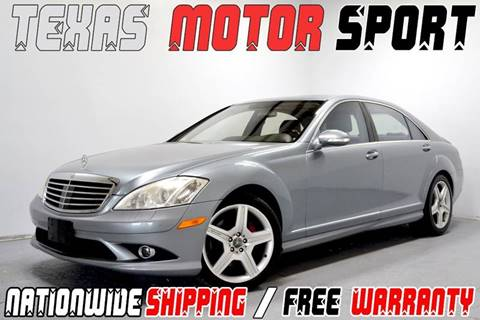 2007 Mercedes-Benz S-Class for sale at Texas Motor Sport in Houston TX