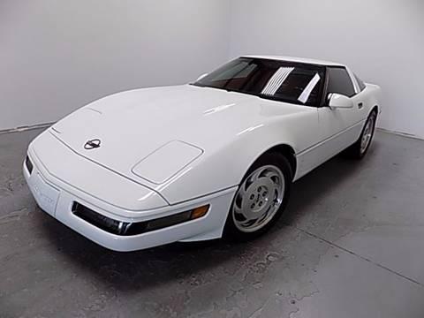 1993 Chevrolet Corvette for sale at Texas Motor Sport in Houston TX