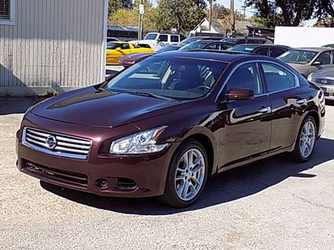 2014 Nissan Maxima for sale at Texas Motor Sport in Houston TX