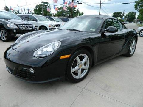 2010 Porsche Cayman for sale at Texas Motor Sport in Houston TX