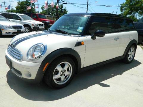 2008 MINI Cooper Clubman for sale at Texas Motor Sport in Houston TX