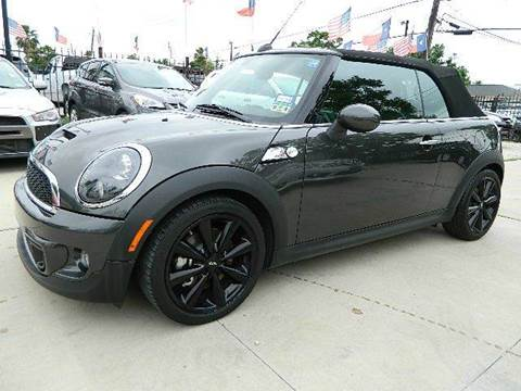 2012 MINI Cooper Convertible for sale at Texas Motor Sport in Houston TX