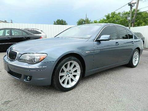 2006 BMW 7 Series for sale at Texas Motor Sport in Houston TX