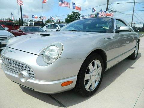 2005 Ford Thunderbird for sale at Texas Motor Sport in Houston TX