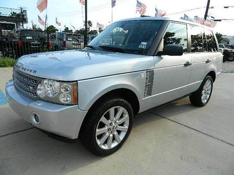 2008 Land Rover Range Rover for sale at Texas Motor Sport in Houston TX